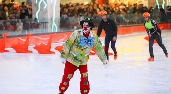 opening ceremony for the first Ice skating center in Mashhad