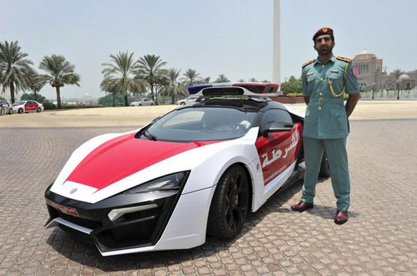 Lykan Hypersport 3 4 Million Joins Abu Dhabi Police News