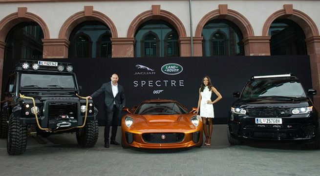 Jaguar C X 75 And Aston Martin Db10 On Spectre 007 Page 6 Of 8 News