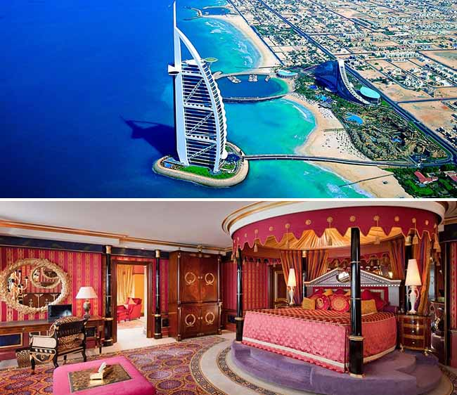 The most luxury expensive hotel in the world news for Most expensive suite in dubai