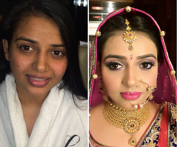 Indian Bridal Before And After Make Up News Page 5