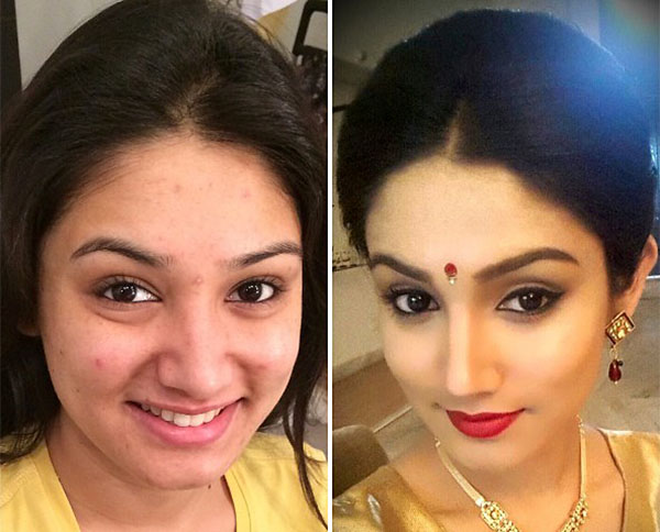 Indian Bridal Before And After Make Up News Page 7