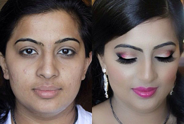 Indian Bridal Before And After Make Up News Page 12