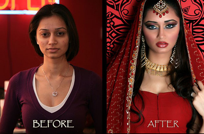 Indian bridal before and after make up! | news | Page 3