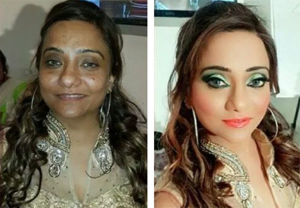 Indian Bridal Before And After Make Up News Page 4