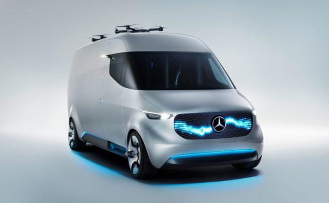Mercedes Vision Van Concept by Hossein Amini Yekta