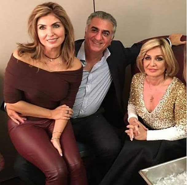 crown prince reza pahlavi at concert news
