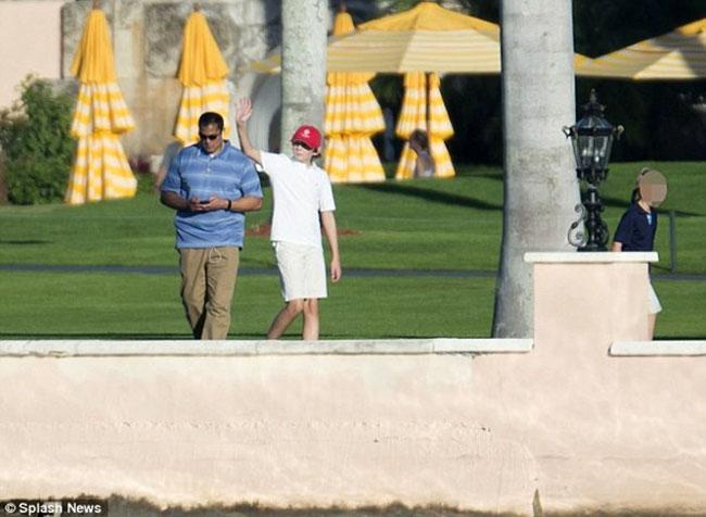 Barron Trump has some new Bodyguards