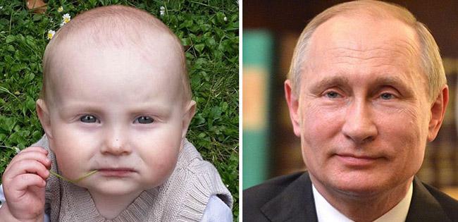 Babies Who Look Like Celebrities