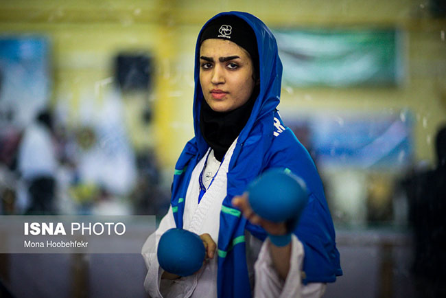 Persian women Karate super league started