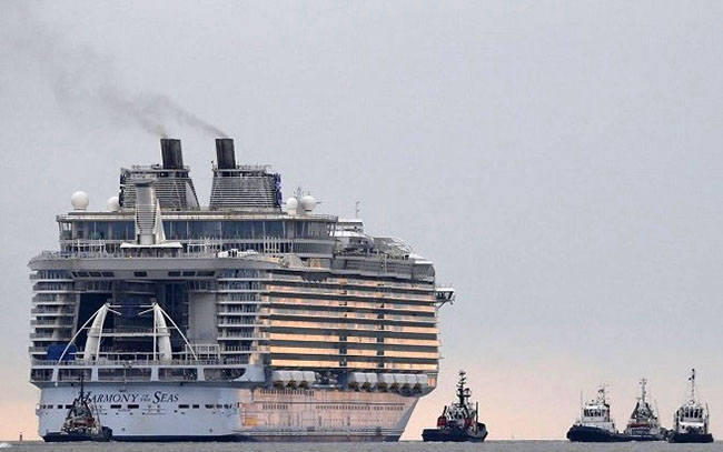 The world's most luxury and largest Cruise Ship