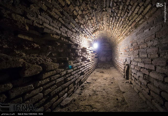 A newly discovered underground city in Isfahan