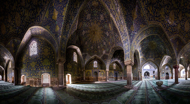 Some Little Planets Photos of the Persia in 360 degree Panoramas