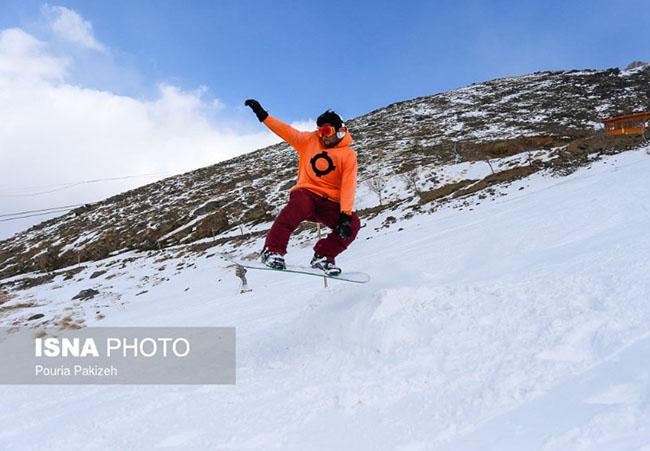 Excitement of Youth Ski in Hamedan