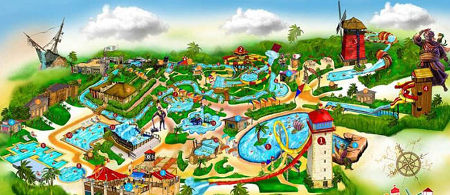 The Unique Waterpark has opened in Kish 2017