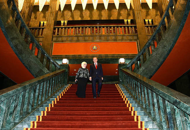 Turkey president Erdogan's palace worth $500m