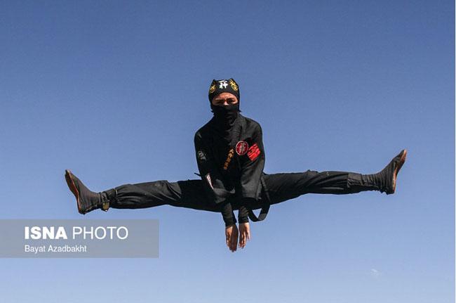 National Female ninjutsu practitioners showcase their skills
