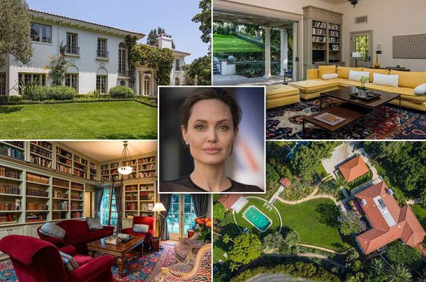Angelina Jolie moves into new $25 million family home in Los Angeles