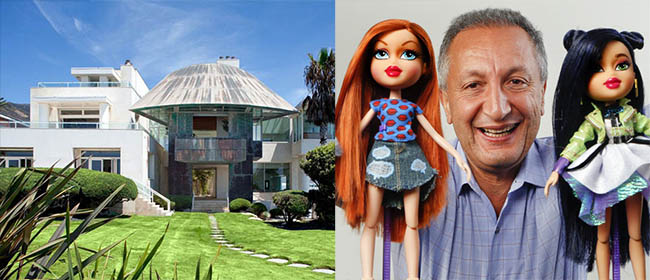 Isaac Larian has bought Frank Gehry's house in Malibu for $24.15 million on Feb 2017
