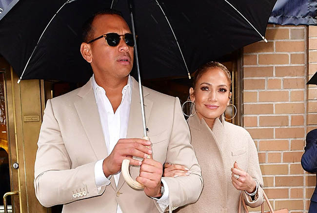 Jennifer Lopez & A-Rod celebrate birthday in Miami