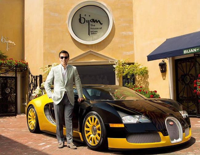 Nicolas Bijan, 25, Reinvents His Father's Menswear Brand In Beverly Hills