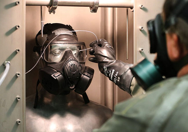 secret Army base biological and chemical weapons deep in the Utah desert