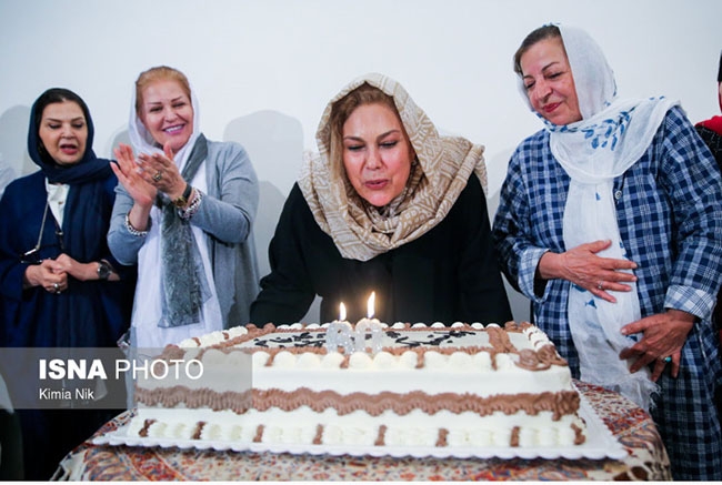 60th Birthday of actress in the capital