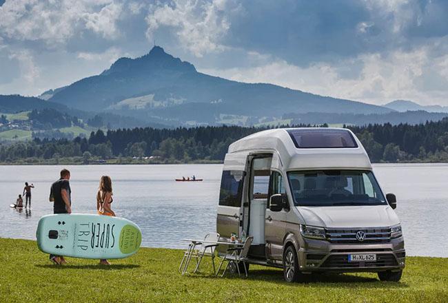 Volkswagen has released new California XXL camper van concept