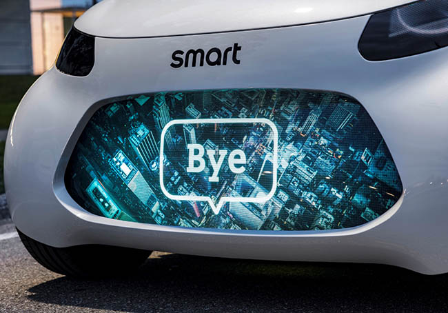 Smart Vision EQ ForTwo concept: how 2030 will benefit ride-sharers by Amini Yekta
