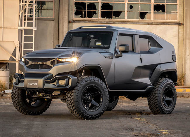 500bhp Rezvani Tank SUV revealed in October 2017