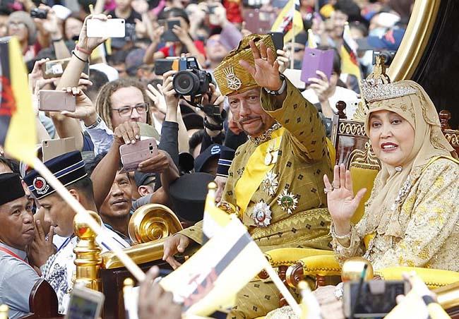 Sultan of Brunei marks Golden Jubilee