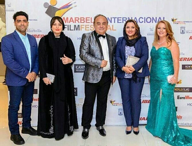 Mehraveh has been nominated for Best Actress at Marbella Film Festival 2017