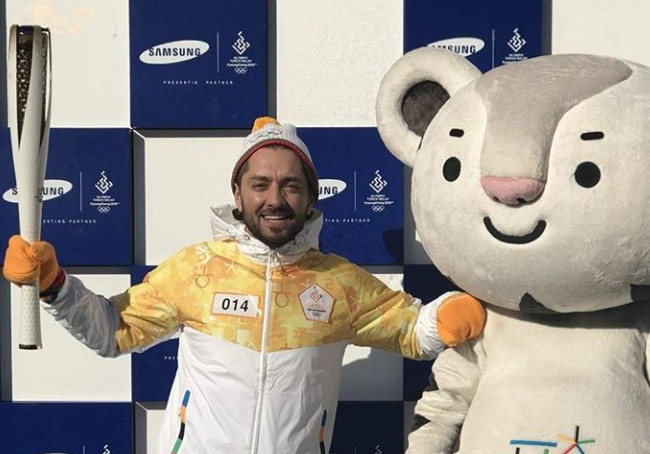 Athletes, Actors and Robots Among Torchbearers PyeongChang 2018