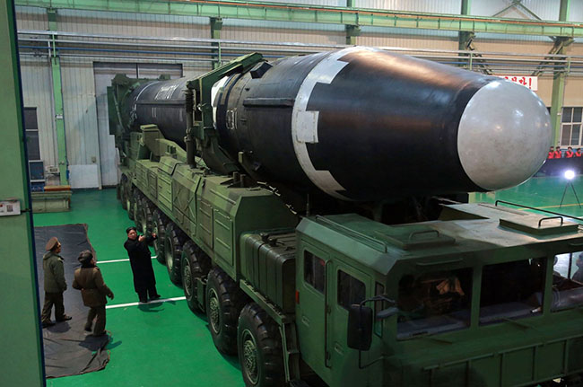 North Korea's New Missile Is Bigger and More Powerful
