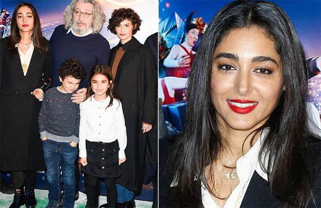 Golshifteh Farahani, Alain Chabat, Gaumont Team on 'Santa & Cie'