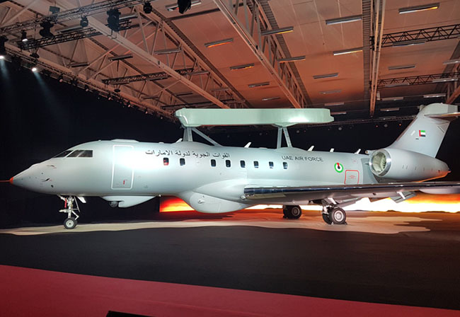 UAE Has Received A new Saab Erieye AEW&C Aircraft