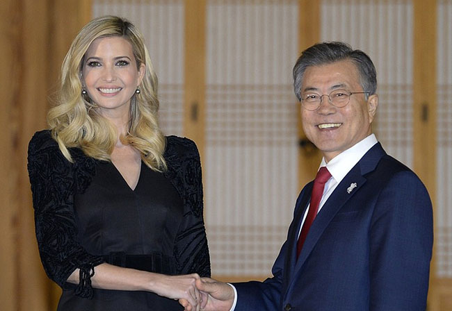 Ivanka Trump hits Pyeongchang 2018, Olympic closing ceremony