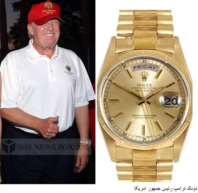 Celebrities and their rolex watches news page 2 for Celebrity wearing rolex watches