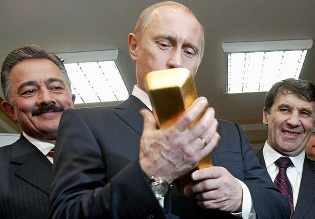 Vladimir Putin Is Probably The Richest Man In The World