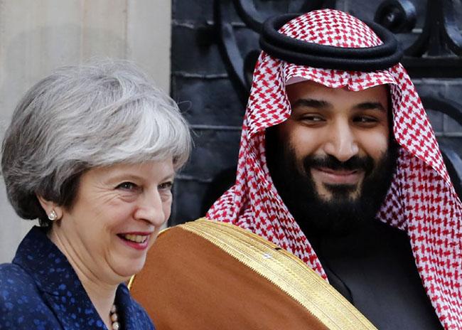 Saudi Crown Prince visits UK to talk security