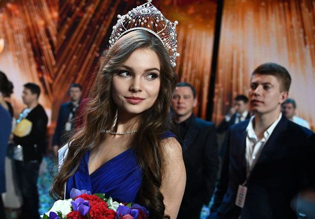 Winner of Miss Russia 2018