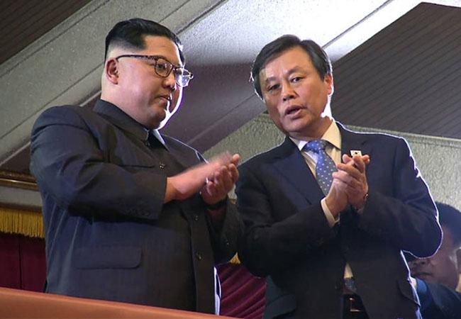 South Korean K-pop stars perform for Kim Jong-un in Pyongyang