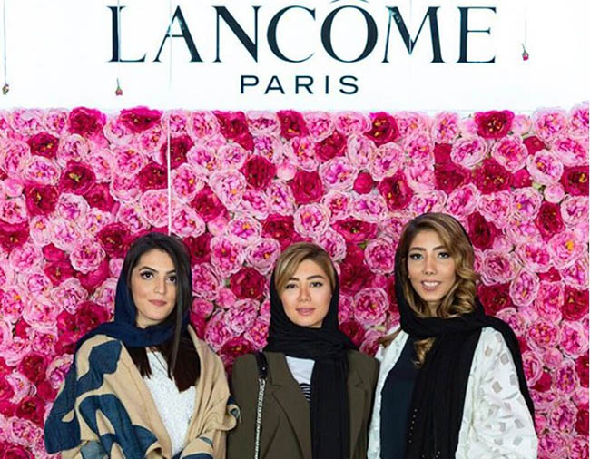 The first LANCOME store in the Middle East opened in the capital