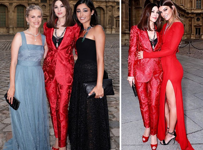 monica bellucci & golshifteh farahani at the Cartier's Event 2018