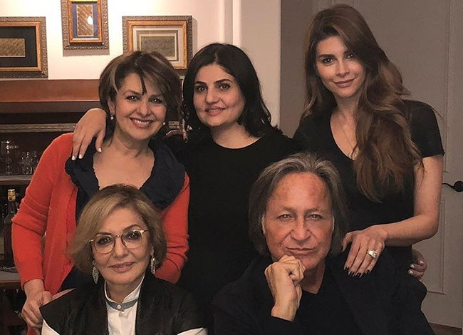 Mohamed Hadid 70 years old Enjoys Quiet Date with his Fiancee