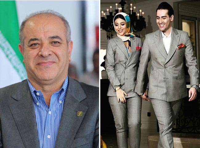 Modelling a Son in Law & daughter of The Billionaire Former Head of Bank Shahr