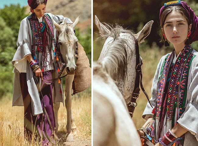 Fashion Modelling with Baloch style