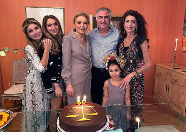 Farah Pahlavi's 80th Birthday Celebration