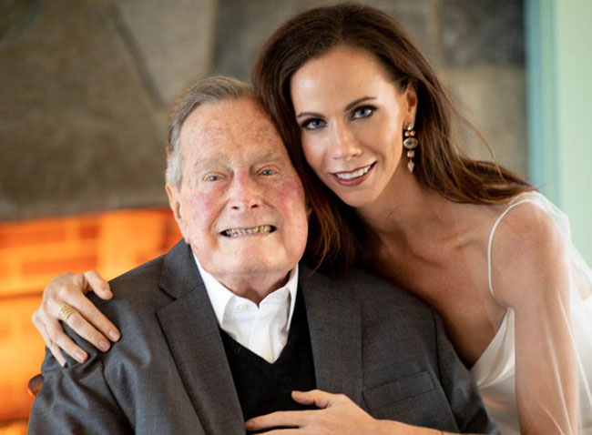 Former President first daughter Barbara Bush gets married