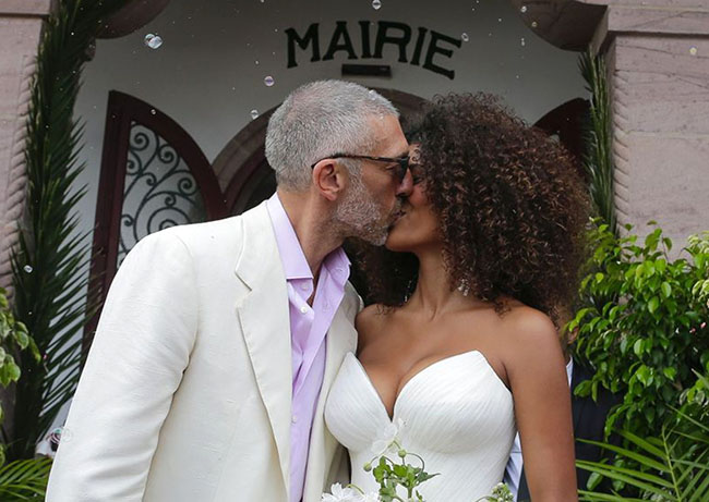 Actor Vincent Cassel, 51, married model Tina Kunakey, 21
